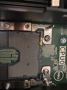 Dell T7920 2x Heatsink 0GB 1x 1400w PSU Workstation Faulty Processor bed 1