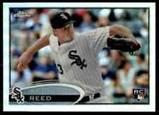 2012 Topps Chrome Silver Refractor Addison Reed RC White Sox #166 10=Fs