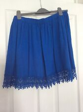 New Look skirt size 14, blue