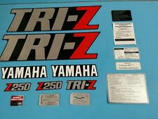YAMAHA TRI-Z250 1985 FENDER SHROUD DECAL GRAPHIC SET (#Y34)