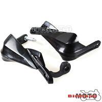 Black Brush Bar Hand Guards Handguard For All 22mm to 28mm Motorcycle Handlebar