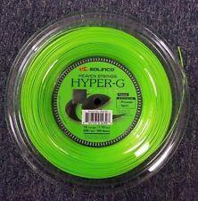 Solinco Hyper G Hyper-G 18 Gauge 1.15mm 656' 200m Tennis String Reel NEW