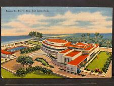 Puerto Rico 1940-60s, Tarjeta Postal, sin usar/unused, Matias Photo Shop SJ