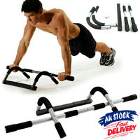 Door Pull Up Bars Exercise Strength Fitness Bar Gym Chin Up  Workout ACB#