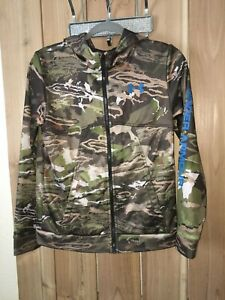 Under Armour Youth Camouflage Cold Gear Jacket w Hoodie YLG