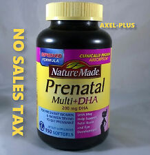 Nature Made Prenatal Multi Vitamin + DHA - 150  Softgels
