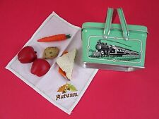 American Girl KIT SCHOOL LUNCH, ACCESSORY FOR DOLLS COMPLETE SET Food Cloth Box