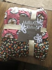 Matilda Jane Choose your own path Fall Friends Twin Size Bed Skirt New woodland
