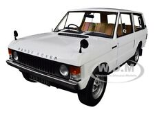 1970 RANGE ROVER LAND ROVER WHITE 1/18 DIECAST MODEL CAR BY ALMOST REAL 810102