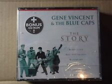 Gene Vincent - Story [ECD] The (2001) CD + CD ROM  in fat box NEW & SEALED