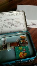 DISNEY Limited edition lunch box series watch and pin - collectible / disneyana