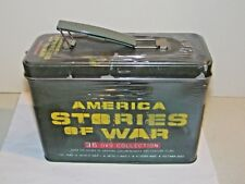 America Stories of War (DVD,36-Disc Set,Ammo Tin) 170 Hours 50 Feature Films NEW