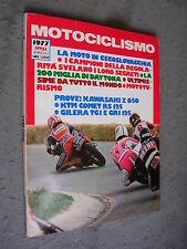 MOTOCICLISMO #  4 - APRILE 1977 - KAWASAKI Z 650 - KTM COMET RE 125 - GILERA TG1
