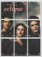 Twilight Saga Eclipse Series 2 Trading Cards Big Picture Set of 9 Cards