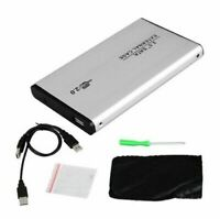 USB 2.0 SATA 2.5 Hard Drive Disk HDD External Enclosure Case Box Laptop