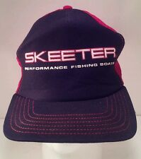 Vintage Skeeter Performance Fishing Boats Snapback Trucker Hat Cap Made in USA