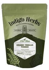Indigo Herbs Organic Tribulus Terrestris Powder 250g Gokshura, Full Spectrum