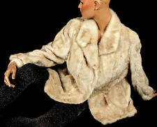 L helle Nerzjacke Nerz Jacke Pelz bright MINK fur jacket Visone Vintage Vison
