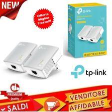 Adattatore di rete 2 x Powerline Tp-link Starter Kit Tl-pa411kit 500mbps Nano