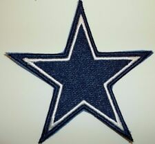 "Dallas Cowboys Embroidered PATCH~3 1/2"" x 3 1/2""~Iron or Sew on~NFL~Ships FREE"