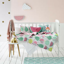 "ADAIRS  QUILT COVER SET ""COT"" FRUIT LOOP $99"