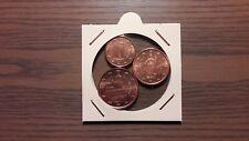 SAN MARINO 2006: MONEDAS DE 1 + 2 + 5 CÉNTIMOS DE EURO. NUEVAS,.S/C