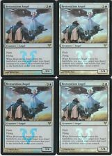 MTG Foil 4X Restoration Angel X4 Release Launch Promo Magic AVR MP/PL