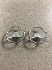 Lot of (2) Ford Hubley 6000 Commander Tractor Steering Wheels 1/12
