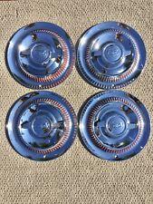 1953 1954 1955 Chevrolet Corvette wheel covers, hub caps 53 54 55 Set Of 4