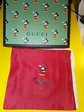 GUCCI MICKEY MOUSE 2020 Handbag Empty Box w/ Red Dust Bag