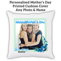 PERSONALISED PHOTO Mothers Day Gift Pillow Sofa Cushion cover Custom Print 0001