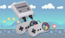 Mini SNES Super Nintendo Style Retro Games Console: 600 Built-In Games Mario UK