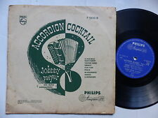 "25 cms 10"" Accordion cocktail JOHNNY MEYER Philips Minigroove P 10010 R"