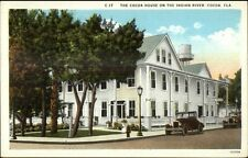 Cocoa FL Cocoa House on Indian River c1920 Postcard #2