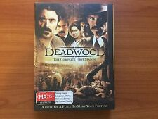 Deadwood : Season 1 (DVD, 2005, 4-Disc Set)