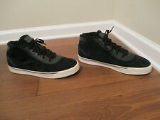 Used Worn Size 13 Nike Hachi Leather Shoes Obsidian Sail Purple