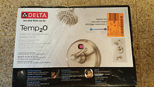 Delta Temp2O 1-Handle LED Digital Temperature Display Tub and Shower Faucet