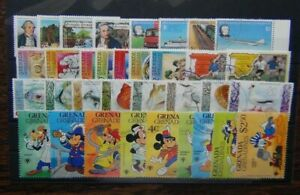 Grenada Grenadines 1978 1982 Cook Rowland Hill Marine Life Disney Christmas Used