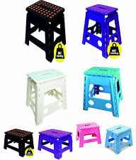 Multi Purpose Folding Step Stool Home Kitchen Easy Storage Upto 150kg Capacity