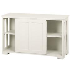 Stackable Sideboard Buffet Cabinet Storage Sliding Door Kitchen Dining