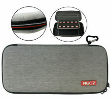 AGOZ Universal Protective Travel Case for Small Electronics & Accessories - Gray
