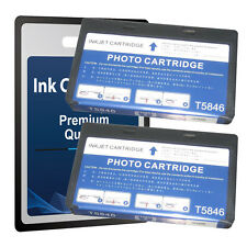 2 X T5846 NON-OEM Ink Cartridge For PictureMate PM200 PM240 PM260 PM280 PM290 C