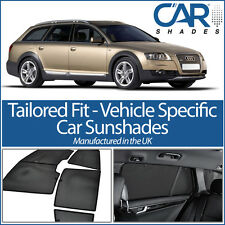 AUDI A6 AllRoad 2004-2011 UV CAR SHADES WINDOW SUN BLINDS PRIVACY GLASS TINT
