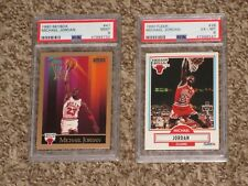 Michael Jordan 1990 Skybox + 1990-91 Fleer Basketball Card Bundle PSA 9 6 Lot