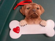 Personalized Christmas Tree Ornament Family Dog Puggle