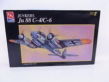 LOT 24144 | AMT Ertl 8898 Junkers Ju 88 C-4/C-6 1:72 Bausatz NEU in OVP