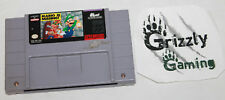 USED Mario is Missing! SNES CART ONLY!! Canadian Seller!!