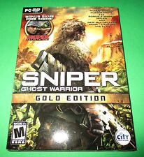Sniper Ghost Warrior - PC - Gold Edition - Factory Sealed!! Free Shipping!!