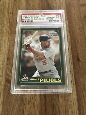 New listing Albert Pujols Rookie of the Week PSA 10 Gem  Late Addition - Promo #6 Free Ship