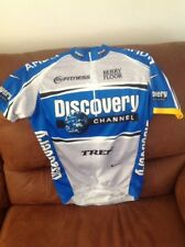 nike dri fit discovery channel cycling jersey size Small mens